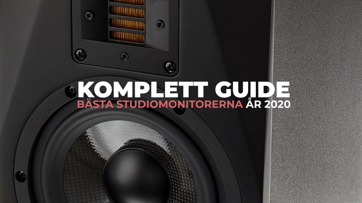TEST: Bästa studiomonitorerna 2020 + Köpguide