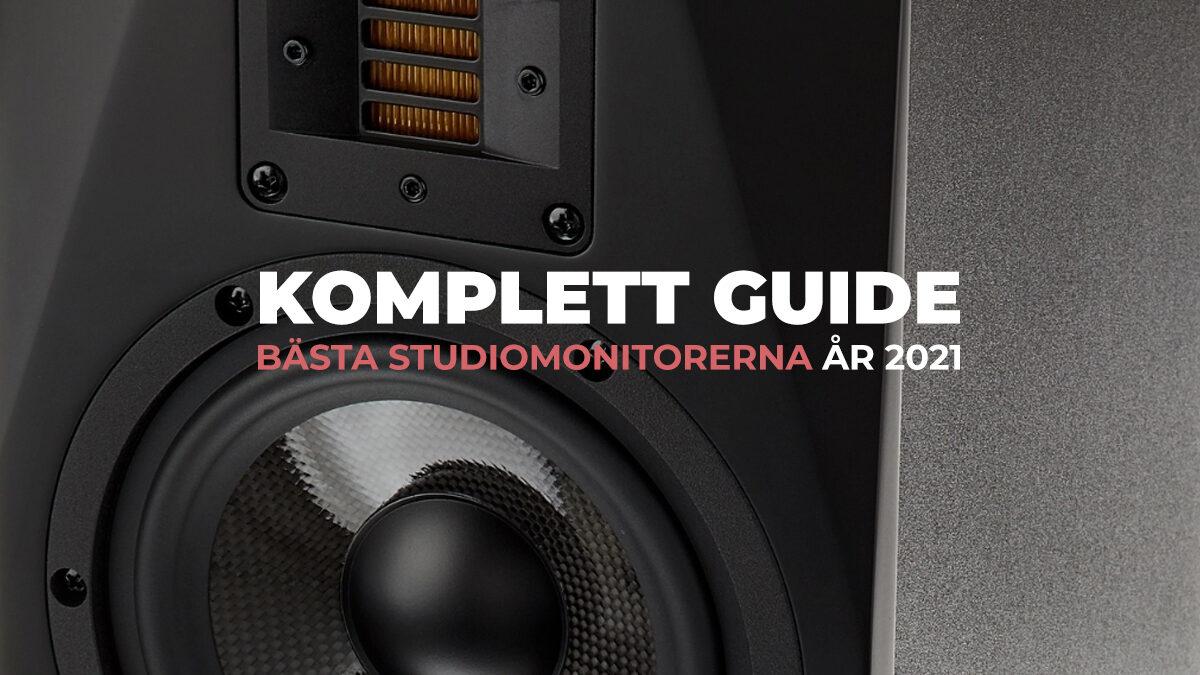 TEST: Bästa studiomonitorerna 2021 + Köpguide