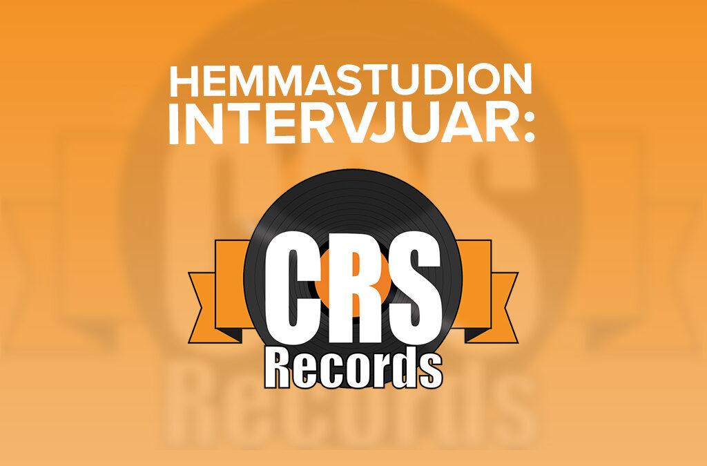 Intervju: CRS Records