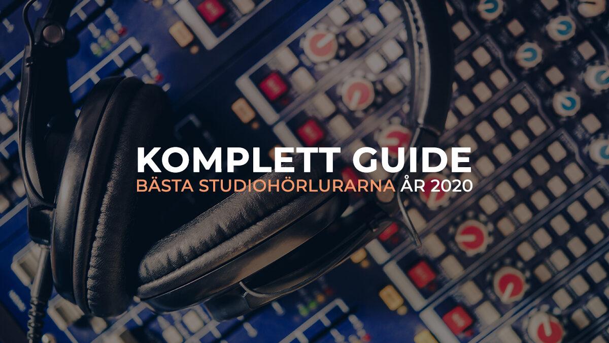 Köpguide: Bästa studiohörlurarna för inspelning och mixning 2020