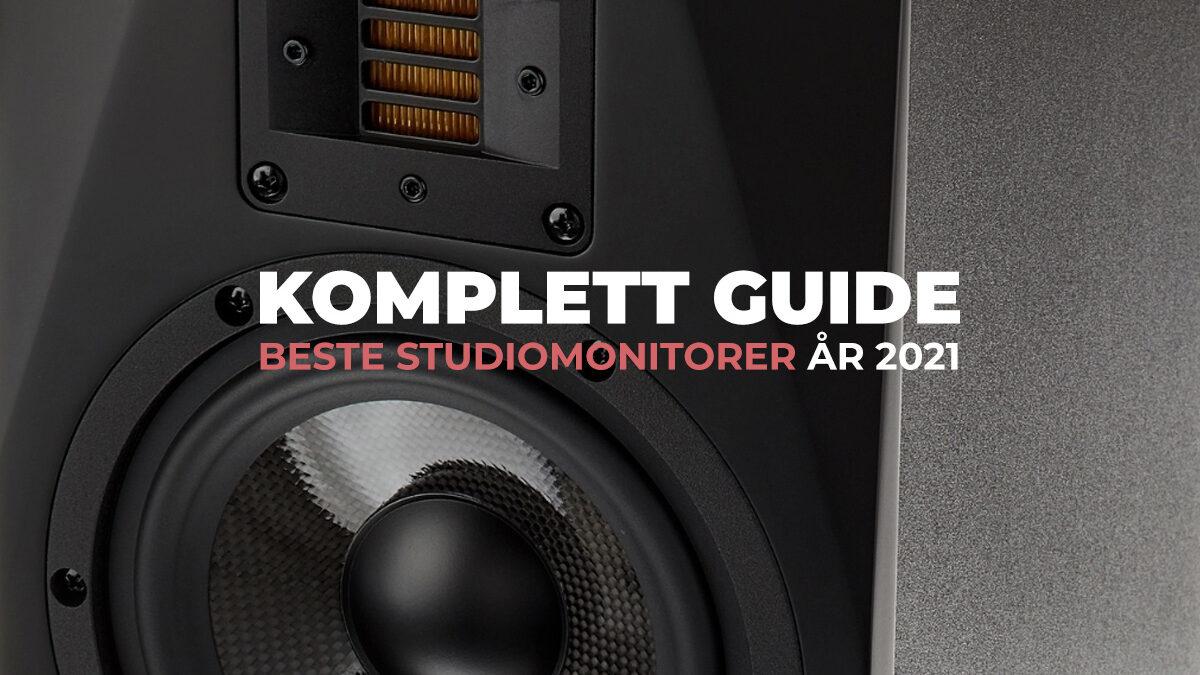 TEST: Beste studiomonitorer 2021 + Kjøpsguide